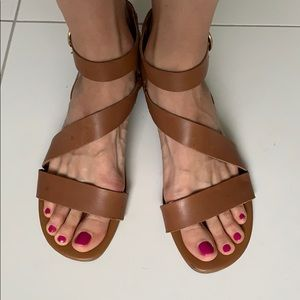 Leather sandals 9.5